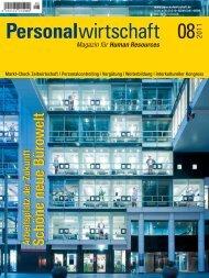 Human Resources Schöne neue Bürowelt Arbeitsplatz der Zukunft
