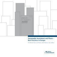 Sustainable Investment and Places – Best ... - Union Investment