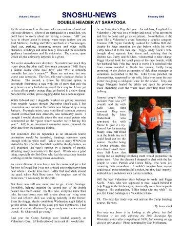 SNOSHU-NEWS February 2005