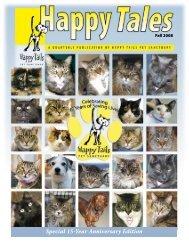 Fall 2008 - Happy Tails - Pet Sanctuary