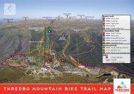 THREDBO mountain bike Trail map