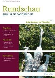 Die vielfältige Vogelwelt rund um unsere Residenz - DKV-Residenz ...