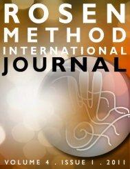 R M I J ... Volume 4 Issue 1, 2011 - Rosen Journal