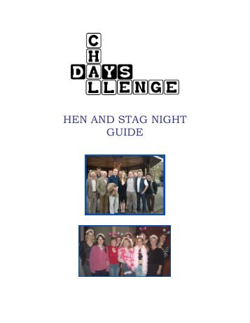 HEN AND STAG NIGHT GUIDE - Horntip