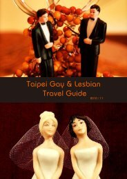Taipei Gay & Lesbian Travel Guide 2 010 - Formosa Travel & Holidays