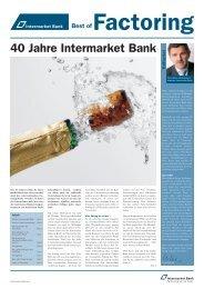 Best of Factoring - Intermarket Bank AG