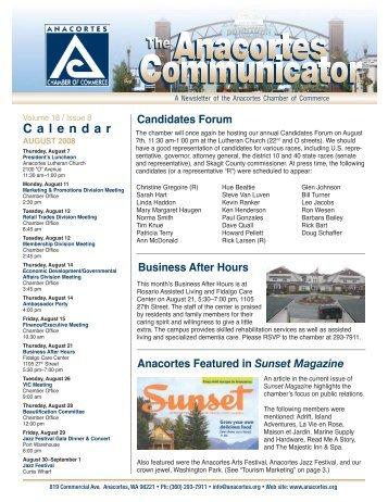 Calendar - Anacortes