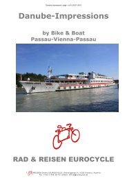Danube Impressions   Page 1 Of 6 - Bike Tours To Go