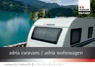 adria caravans / adria wohnwagen - Stador AC doo