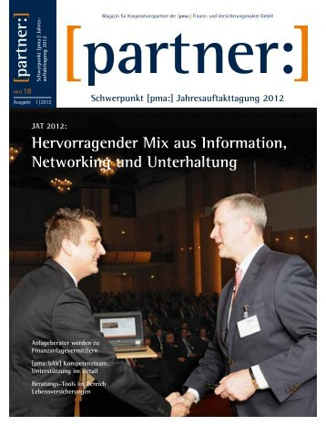 Hervorragender Mix aus Information, Networking und ... - PMA