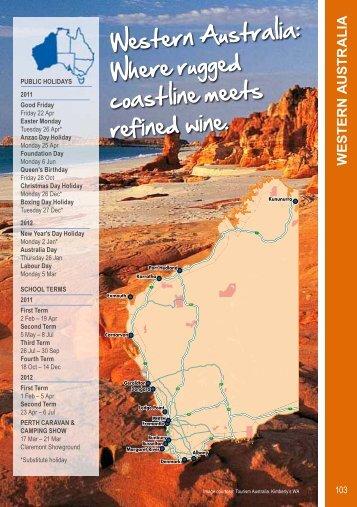 W E STE R N A U STR A L IA - BIG4 Holiday Parks - Australia