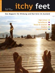 Bachelor- & Master-Abschlüsse Semester - itchy feet