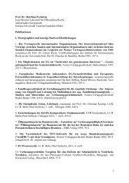 Publikationen - Europa-Universität Viadrina Frankfurt
