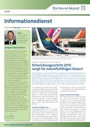 Informationsdienst - Dialog-Dortmund-Airport