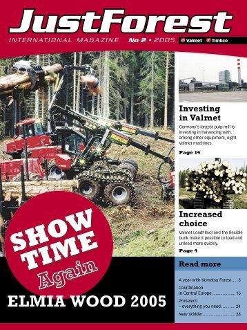 international magazine - North America - Komatsu Forest