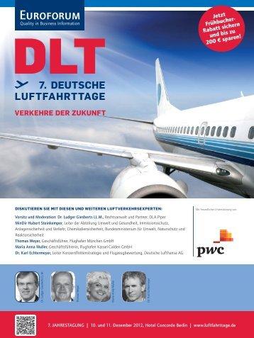 7. DEUTSCHE LUFTFAHRTTAGE - Euroforum