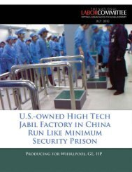 Jabil Factory in China - National Labor Committee