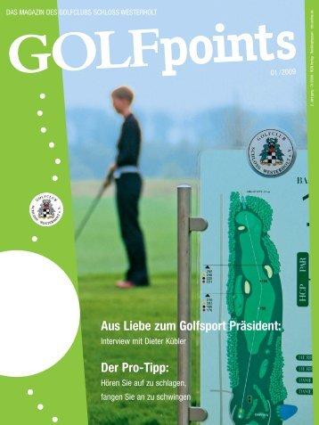 Golfpoints 1-09 TL okay.qxd - Golfclub Schloss Westerholt eV
