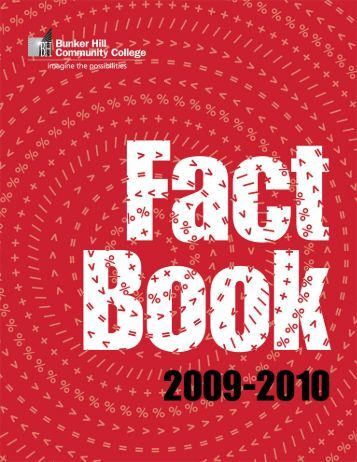 2009-2010 BHCC Fact Book - Bunker Hill Community College