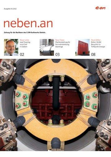 Nachbarschaftszeitung neben.an 01.2012 (PDF ... - Kraftwerk Datteln