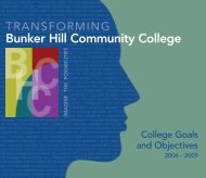 BHCC Faculty and Staff Participants - Bunker Hill Community College