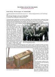Ein Emder Soldat und sein Holzkoffer - Emden, Bunkermuseum