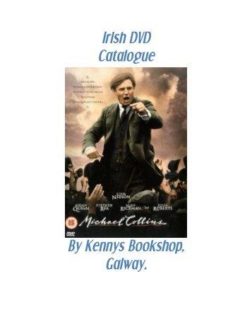 Irish DVD Catalogue - Kennys Bookshop & Art Gallery