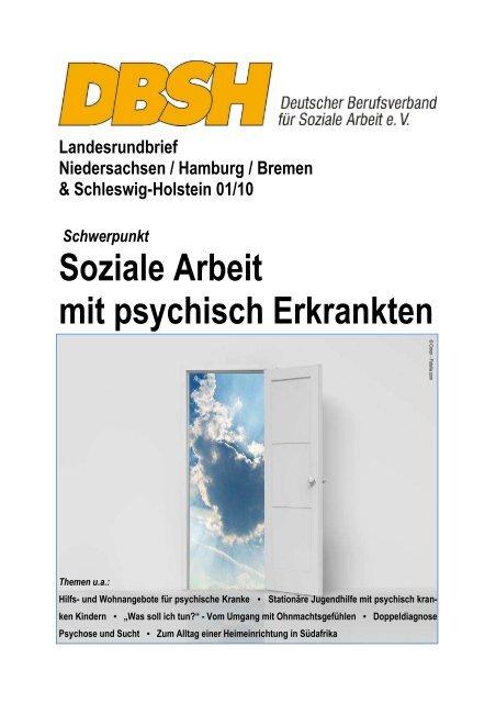 Soziale Arbeit mit psychisch Erkrankten - DBSH LV Niedersachsen