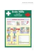 Erste Hilfe, Flucht- und Rettungswege - Seite 7