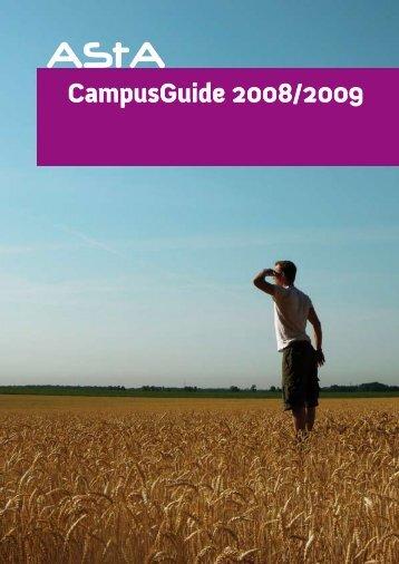 CampusGuide 2008/2009 - Christian-Albrechts-Universität zu Kiel