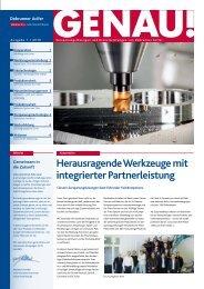 GENAU! Präzisionswerkzeuge Ausgabe 1/2010 ... - Debrunner Acifer