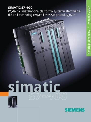 SIMATIC S7-400 katalog skrуcony plik pdf 1