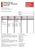 Schweiz. Maschinen Import AG - Schweizerische Maschinen Import ... - Seite 2