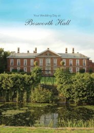 Your Wedding Day At Bosworth Hall - Britannia Hotels