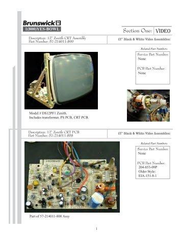 Electronic Repair Catalog - Brunswick