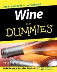 Part I: Getting to Know Wine - Vinum Vine