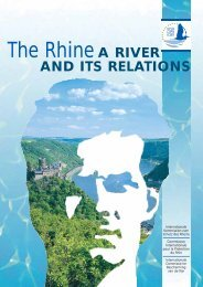 Rhine – A river and its relations - IKSR