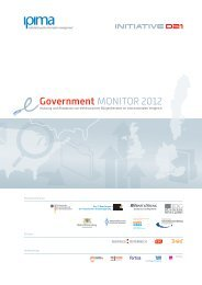 eGovernment MONITOR 2012 - TNS Infratest