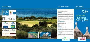 Deutscher Touristiker-Golfcup - Touristik Aktuell