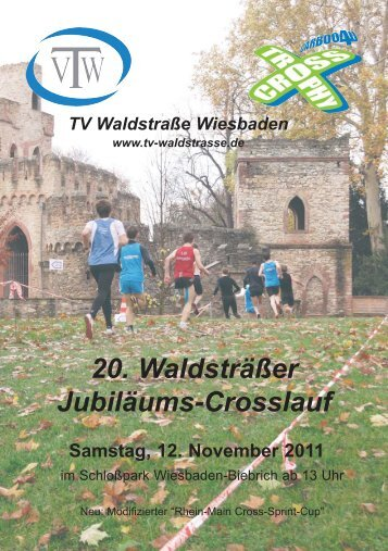 20. Waldsträßer Jubiläums-Crosslauf - TV Waldstraße Wiesbaden