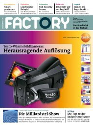Factory: Die Wolke am Horizont | Seite 80 - EuroCloud.Austria