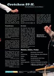 Gretchen 89 ff. - Theaterlust