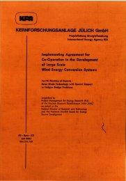 KERNFORSCHUNGSANLAGE JÜUCH GmbH - JUWEL