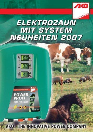 Neuheiten AKO-Katalog 2007