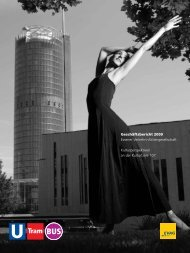 Geschäftsbericht 2009 Essener Verkehrs-Aktiengesellschaft ... - Evag