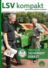 Sicherheit zuerSt - Die Landwirtschaftliche Sozialversicherung