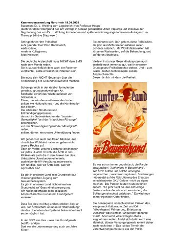 Junkernland in Bauernhand - Essener Resolution