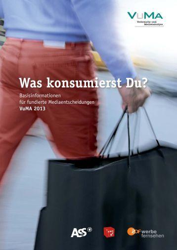 Was konsumierst Du? - Verbrauchs