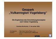 """Geopark """"Vulkanregion Vogelsberg"""" - Vogelsbergkreis"""