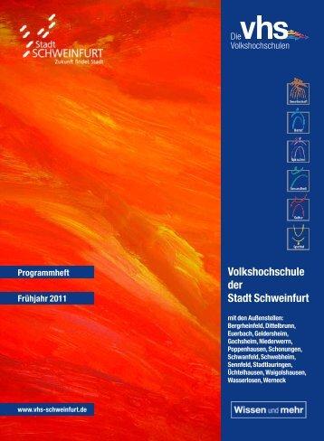 Volkshochschule der Stadt Schweinfurt - Deutsches Institut für ...